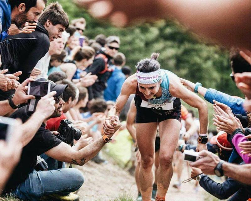 Maite Maiora Zegama Aizkorriko maratoian Txapeldun 1 irudia